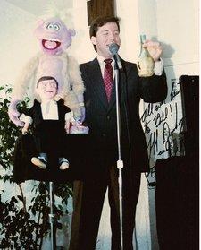 01Jeff Dunham at Senor Wences testimonial luncheon. 4-2-1989
