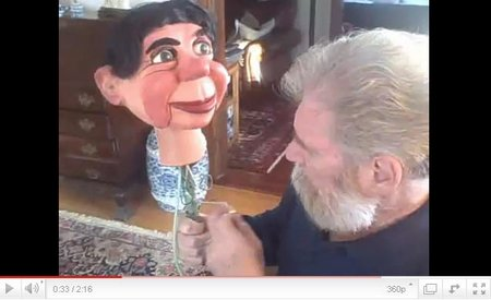 you tube ventriloquist-central tattersall headstick