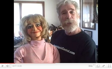 you tube ventriloquist central johnny main candy