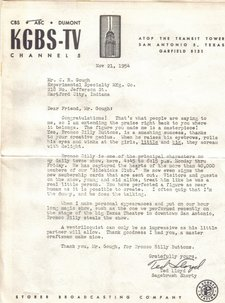 ted lloyd letter to cecil gough