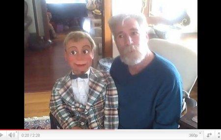 you tube ventriloquist central ken spencer figure