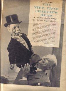 Charlie McCarthy and Edgar Bergen