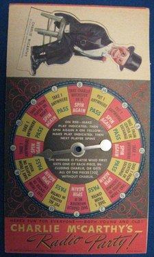 Charlie McCarthys Radio Party Game 003