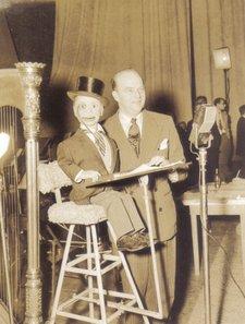 Edger Bergen Charlie McCarthy performing