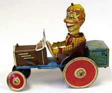 mortimer snerd car by marx toys