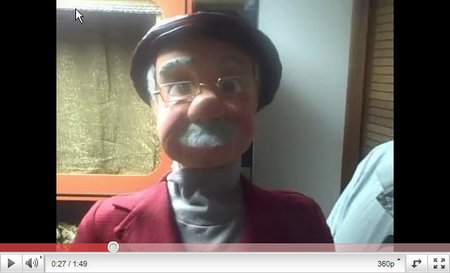 you tube ventriloquist central johnny main snuffy