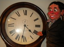ventriloquist central birthday bash time ticking away