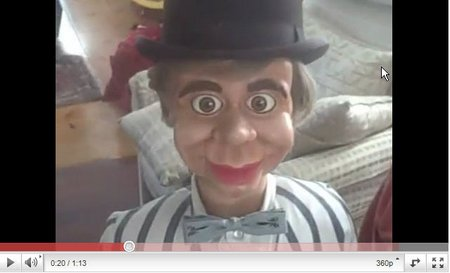 you tube ventriloquist central brant gilmer mcelroy style