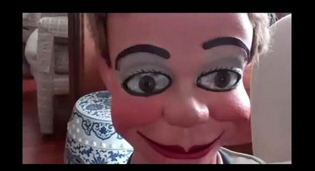 you tube ventriloquist central marshall eyebrows