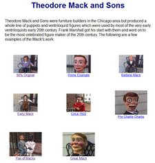 ventriloquist central theodore mack figures
