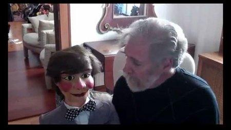 you tube ventriloquist central collection origiinal mack figure