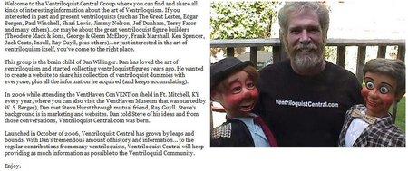 ventriloquist central forum