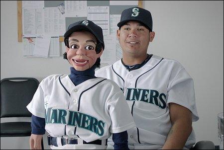 felix hernandez jerry mahoney ventriloquist figure