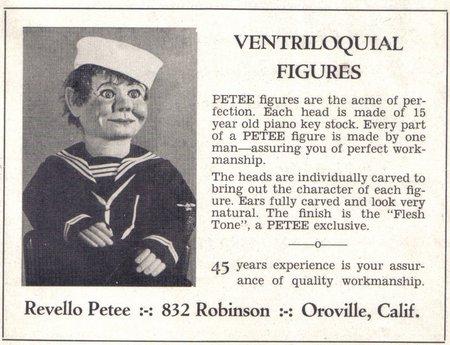 Revello Petee sailor figure