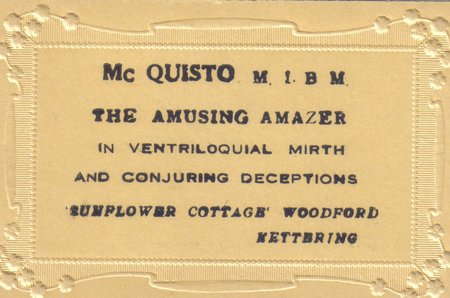 McQuisto business card