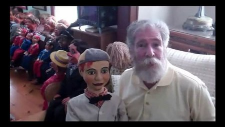 you tube ventriloquist central collection earliest frank marshall figure