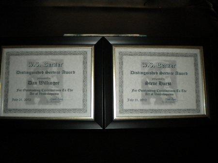 ws berger awards