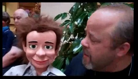 you tube ventriloquist central vent haven convention 2012 jim mauer dan lavender figure
