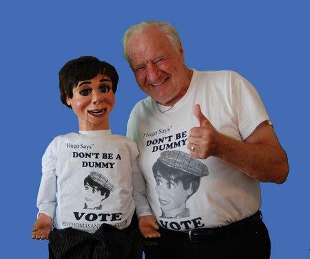 edthomasandhugo vote tshirts