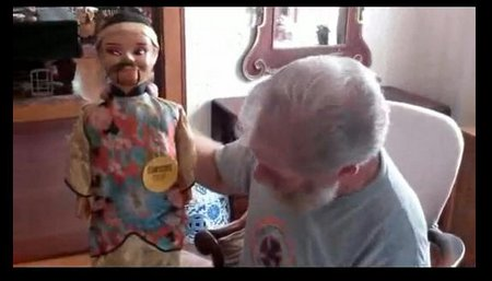 you tube ventriloquist central collection toy confucius talks