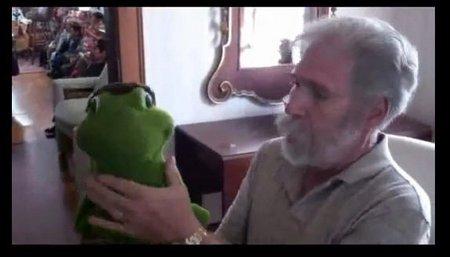 you tube ventriloquist central collection unique frog figure