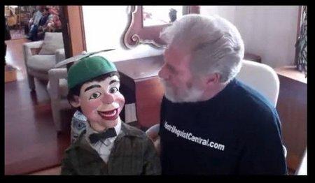 you tube ventriloquist central dan vent routine