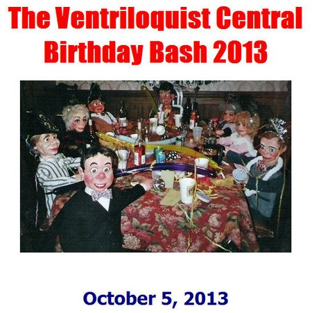 ventriloquist central birthday bash 2013