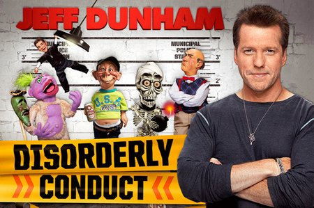 Jeff Dunham disorderly conduct