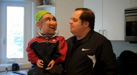 you tube ventriloquist gary willner jewish rapper