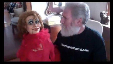 you tube ventriloquist central collection brian hamilton female figure