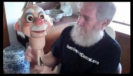 you tube ventriloquist central collection rene old man headstick
