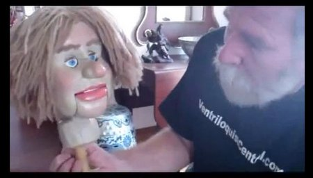 you tube ventriloquist central collection folk art