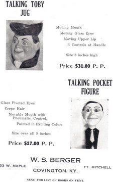 berger ad for insull items