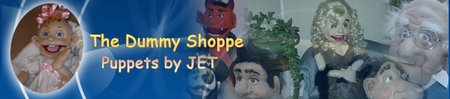 thedummyshoppe puppets by JET