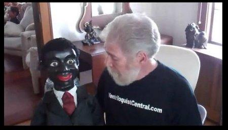 you tube ventriloquist central collection ken spencer black figure