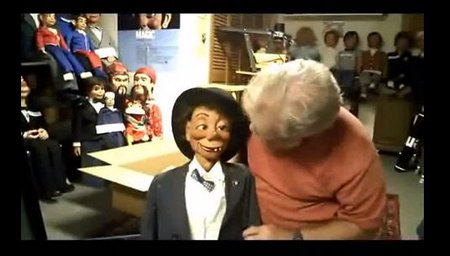 you tube ventriloquist central collection art sieving arrival
