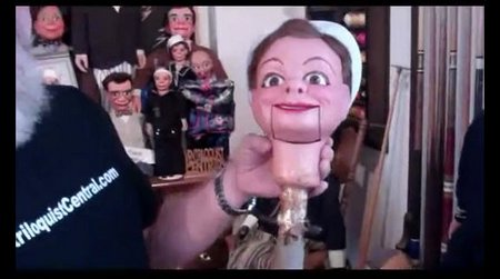 you tube ventriloquist central collection woody headstick