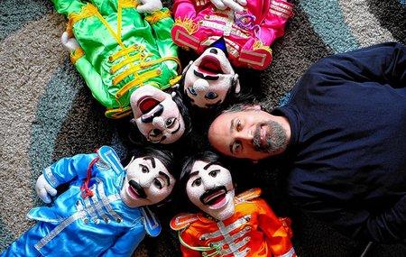 bob beatle puppets