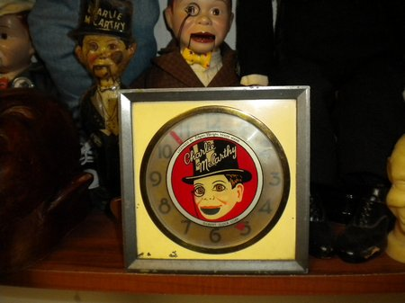 charilie mccarthy clock