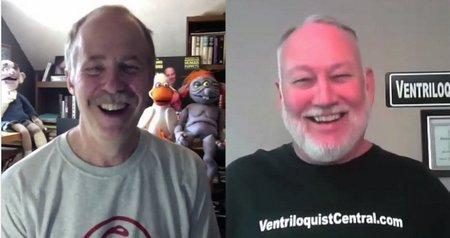 you tube ventriloquist central steve hurst interview 1