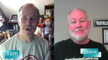 you tube ventriloquist central steve hurst interview 4