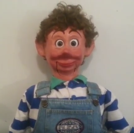 ventriloquist central you tube video of dummy for sale